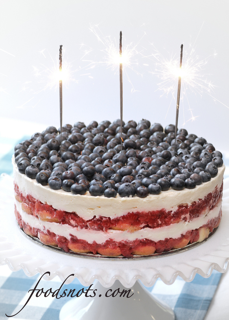 Red, White, And Blue Berry Trifle Recipes — Dishmaps