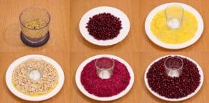 how to cook Pomegranate bracelet salad